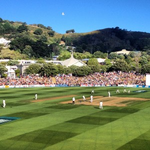Wellington's Basin Reserve